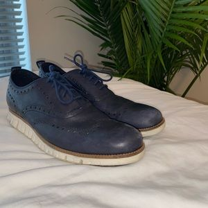Cole Haan Zerogrand Fine Leather Wingtip Oxford
